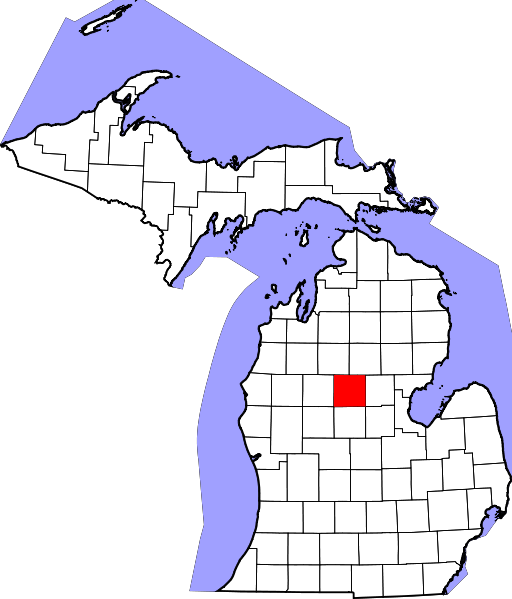 512px-Map_of_Michigan_highlighting_Clare_County_svg